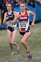 Stanford's Elise Cranny (525) passes a competitor during the NCAA Cross Country Championships in Terre Haute, Ind. on Saturday, Nov. 22, 2014. (James Brosher, Special to the Denver Post)
