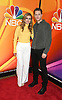 Melissa Roxburgh and Josh Dallas of &quot;Manifest&quot; attends the NBC New York Fall Junket on September 6, 2018 at The Four Seasons Hotel in New York, New York, USA. <br /> <br /> photo by Robin Platzer/Twin Images<br />  <br /> phone number 212-935-0770