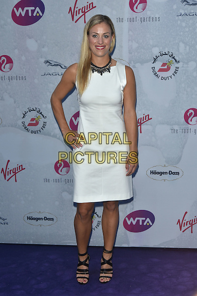 Angelique Kerber at WTA pre-Wimbledon Party at The Roof Gardens, Kensington on june 23rd 2016 in London, England.<br /> CAP/PL<br /> &copy;Phil Loftus/Capital Pictures