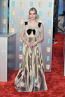 LONDON, UK - FEBRUARY 10: Lucy Boynton at the 72nd British Academy Film Awards held at Albert Hall on February 10, 2019 in London, United Kingdom. Photo: imageSPACE/MediaPunch<br /> CAP/MPI/IS<br /> ©IS/MPI/Capital Pictures