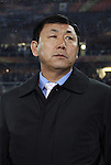 15 JUN 2010:  North Korea head coach Kim Jong Hun (PRK).  The Brazil National Team played the North Korea National Team to a 0-0 tie at the end of the 1st half at Ellis Park Stadium in Johannesburg, South Africa in a 2010 FIFA World Cup Group G match.