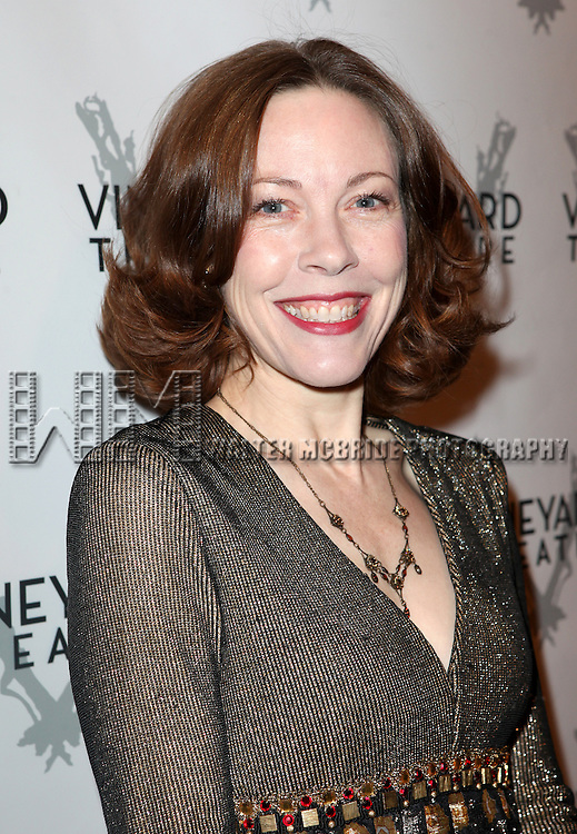 Veanne Cox attending the Vineyard Theatre's 30th Anniversary Gala Celebration Cocktail Reception at the Edison Ballroom in New York City on 3/18/2013