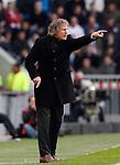 Nederland, Eindhoven, 14 april 2012.Eredivisie .Seizoen 2011-2012.PSV-AZ.Gertjan Verbeek, trainer-coach van AZ
