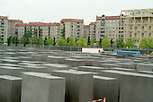 Construction of Peter Eisenmann's Berlin Memorial to Murdered Jews