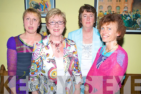 Pictured at the Autism Action Ireland fashion show in Sol Y Sombra, Killorglin on Tuesday night were Maria Hegarty, Mary O'Connor, Christine Horgan and Sheila Sheahan.