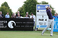 Robin Roussel (FRA) in action during the third round of the Hauts de France-Pas de Calais Golf Open, Aa Saint-Omer GC, Saint- Omer, France. 15/06/2019<br /> Picture: Golffile | Phil Inglis<br /> <br /> <br /> All photo usage must carry mandatory copyright credit (© Golffile | Phil Inglis)