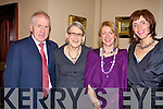 Darina Allen is joined by Jimmy Deenihan, TD Mary Deenihan and Antoinette Sayers at the Food Fair at the Listowel Arms Hotel on Saturday night..   Copyright Kerry's Eye 2008