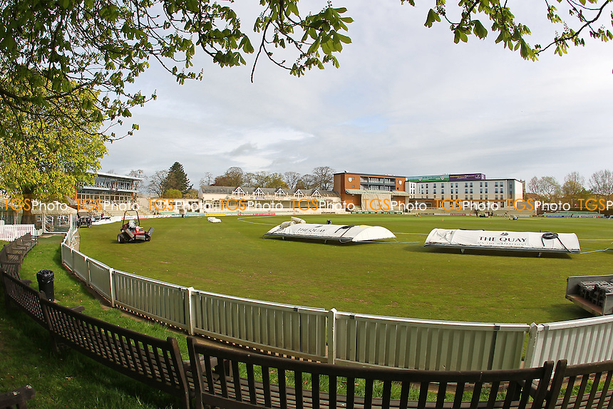 General view of the ground ahead of Worcestershire CCC vs Essex CCC, Specsavers County Championship Division 2 Cricket at New Road on 1st May 2016