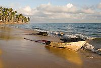 Strand von Las Terrenas auf der Samana-Halbinsel, Dominikanische Republik
