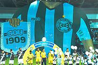 CURITIBA, PR, 29.04.2019: CORITIBA-PONTE PRETA - Partida entre Coritiba e Ponte Preta pelo Campeonato Brasileiro da Série B nesta segunda-feira (29), no estadio Couto Pereira, em Curitiba (PR). (Foto: Ernani Ogata/Código19)