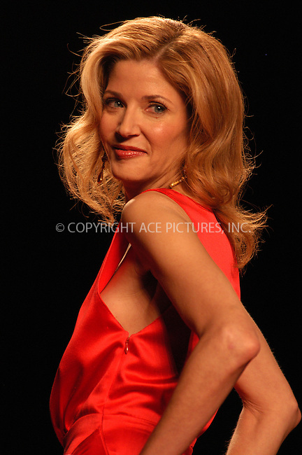 WWW.ACEPIXS.COM . . . . . ....NEW YORK, FEBRUARY 4, 2005....Candice Bushnell walks the runway in The Heart Truth Red Dress Collection at Olympus Fashion Week.....Please byline: KRISTIN CALLAHAN - ACE PICTURES.. . . . . . ..Ace Pictures, Inc:  ..Philip Vaughan (646) 769-0430..e-mail: info@acepixs.com..web: http://www.acepixs.com