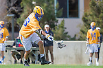 Los Angeles, CA 02-26-17 - Elliot Stanger (UCSB #26) in action during the MCLA conference game between LMU and UC Santa Barbara.  Santa Barbara defeated LMU 15-0.