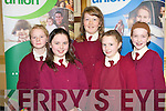 CREDIT UNION: The pupils of St Joseph's NS, Caherciveen at the Chapter 23 of the Irish League of Credit Unions table quiz at the Gleneagle hotel, Killarney on Sunday l-r: Kate O'Sullivan, Lee Coffey, Ciara Quigley, Patricia O'Sullivan and Grainne Donegan.