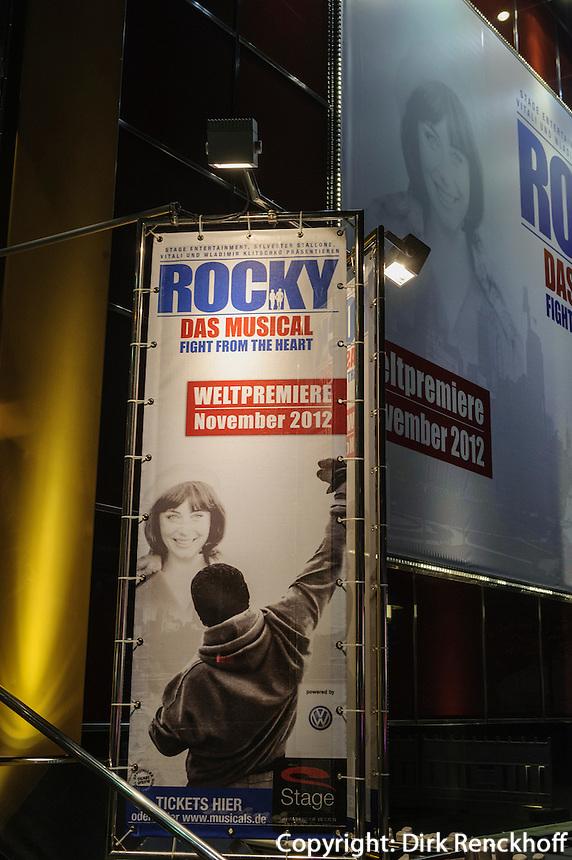 Rocky im Tui Operettenhaus, Spielbudenplatz 1, Hamburg-St.Pauli, Deutschland