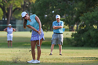 Maria Fassi (a)(MEX) chips on to 1 during round 1 of the 2019 US Women's Open, Charleston Country Club, Charleston, South Carolina,  USA. 5/30/2019.<br /> Picture: Golffile | Ken Murray<br /> <br /> All photo usage must carry mandatory copyright credit (© Golffile | Ken Murray)