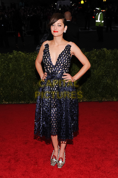 05 May 2014 - New York, New York- Marion Cotillard. &quot;Charles James: Beyond Fashion&quot; Costume Institute Gala. <br /> CAP/ADM/CS<br /> &copy;Christopher Smith/AdMedia/Capital Pictures