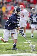 College Park, MD - February 25, 2017: Yale Bulldogs Camyar Matini (31) gets the loose ball during game between Yale and Maryland at  Capital One Field at Maryland Stadium in College Park, MD.  (Photo by Elliott Brown/Media Images International)