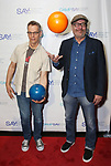 Patrick Breen and Terry Kinney during the 8th Annual Paul Rudd All-Star Benefit for SAY at Lucky Strike Lanes  on November 11, 2019 in New York City.