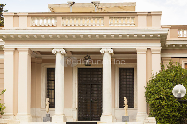 The Maximou Mansion, Greek Prime Minister&rsquo;s official residence, 19 Irodou Attikou Street, Athens, Greece <br /> CAP/MEL<br /> &copy;MEL/Capital Pictures /MediaPunch ***NORTH AND SOUTH AMERICA ONLY***