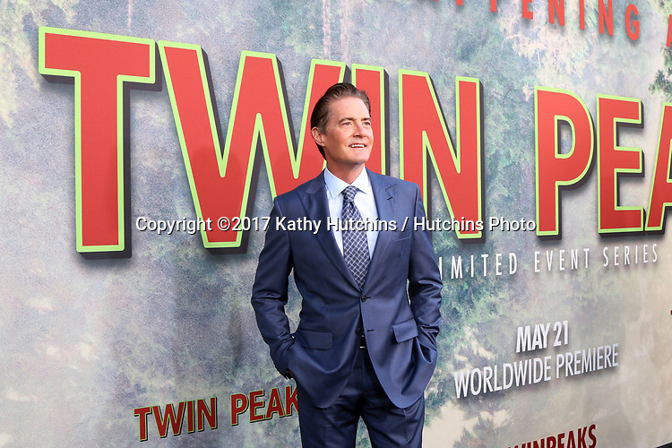 """LOS ANGELES - MAY 19:  Kyle MacLachlan at the """"Twin Peaks"""" Premiere Screening at The Theater at Ace Hotel on May 19, 2017 in Los Angeles, CA"""