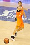 Baloncesto Fuelabrada's Ferran Lavina during Liga Endesa ACB match.October 30,2011. (ALTERPHOTOS/Acero)