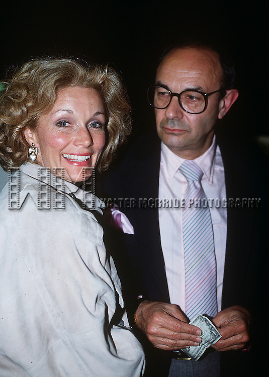 Yvette Mimieux with former husband Stanley Donen