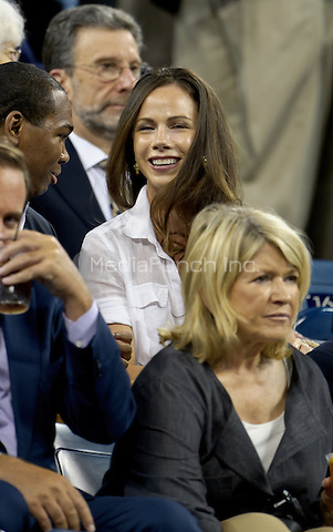 September 6, 2012: Barbara Bush (Top) and Martha Stewart (Bot) attend the matches on Day 11 of the 2012 U.S. Open Tennis Championships at the USTA Billie Jean King National Tennis Center in Flushing, Queens, New York, USA. Credit: mpi105/MediaPunch Inc.