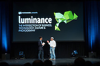 Day One at Luminance 2012 presented by PhotoShelter at Tribeca Performing Arts Center in New York City. September 12, 2012. Copyright 2012 © Chris Owyoung