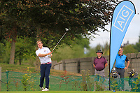 Gary Ward (Kinsale) on the 1st tee during the AIG Barton Shield Munster Final 2018 at Thurles Golf Club, Thurles, Co. Tipperary on Sunday 19th August 2018.<br /> Picture:  Thos Caffrey / www.golffile.ie<br /> <br /> All photo usage must carry mandatory copyright credit (&copy; Golffile | Thos Caffrey)
