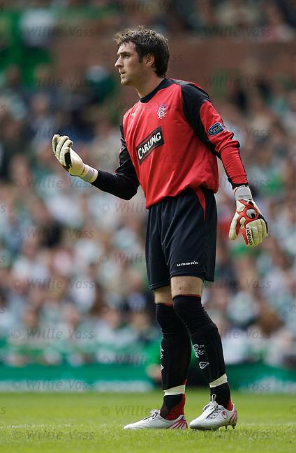 Allan McGregor, Rangers.stock season 2006-2007.pic willie vass