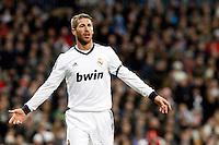 Sergio Ramos during La Liga Match. December 01, 2012. (ALTERPHOTOS/Caro Marin)