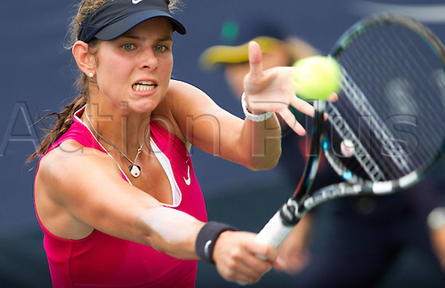 27.08.2012. New York, USA.  U.S. Open 2012 New York City New York USA  WTA Tennis women Tour U.S. Open 2012 Grand Slam Flushing Meadows Picture shows Juliet Goerges ger  Tennis U.S. Open New York Flushing Meadows