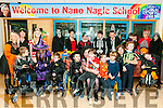 Halloween Party : Staff & Pupils of Nano Nagle School, Listowel enjoying their halloween Part & Pumpkin competition on Friday last.