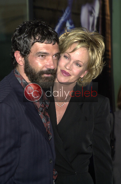 Antonio Banderas and wife Melanie Griffith