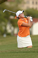 SAN ANTONIO, TX - OCTOBER 22: The Univeristy of Texas at San Antonio Roadrunners Women's Golf Fall Qualifier at San Antonio Country Club. (Photo by Jeff Huehn)