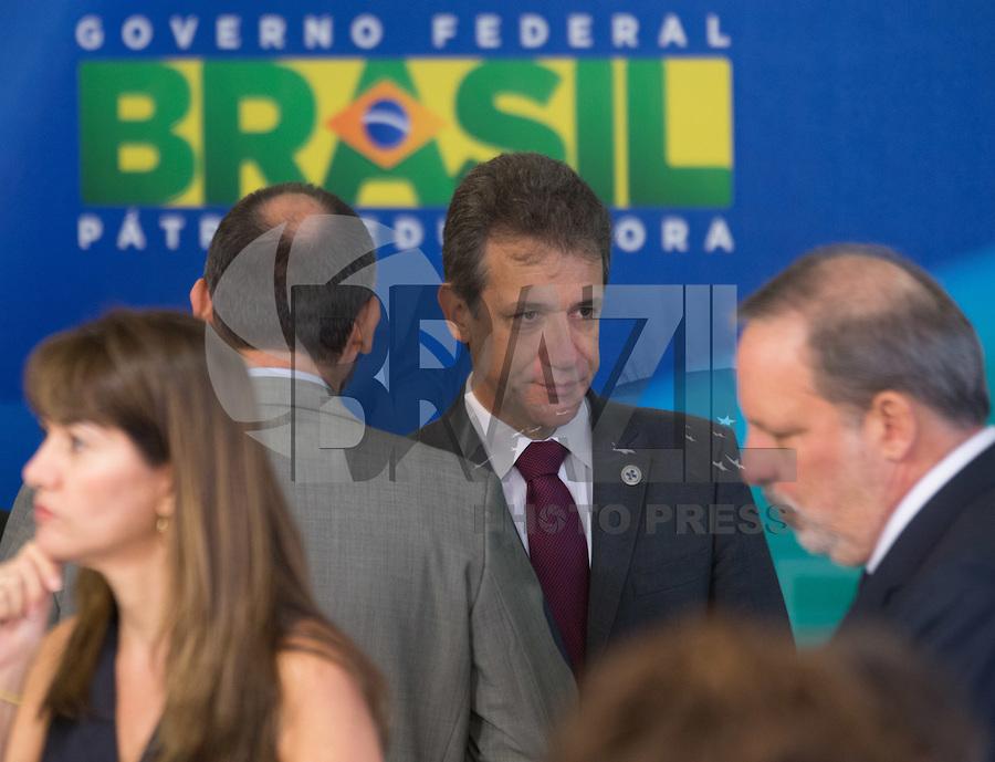 BRASILIA, DF, 02.10.2015 - DILMA-REFORMA -  O ministro da Saúde, Arthur Chioro, durante declaração sobre a  reforma administrativa do<br /> Governo Federal, nesta sexta-feira, no <br /> Palácio do Planalto.(Foto:Ed Ferreira / Brazil Photo Press)