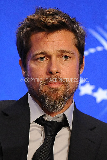 WWW.ACEPIXS.COM . . . . . ....September 24 2009, New York City....Brad Pitt at the Clinton Global Initiative on September 24 2009 in New York City....Please byline: KRISTIN CALLAHAN - ACEPIXS.COM.. . . . . . ..Ace Pictures, Inc:  ..tel: (212) 243 8787 or (646) 769 0430..e-mail: info@acepixs.com..web: http://www.acepixs.com