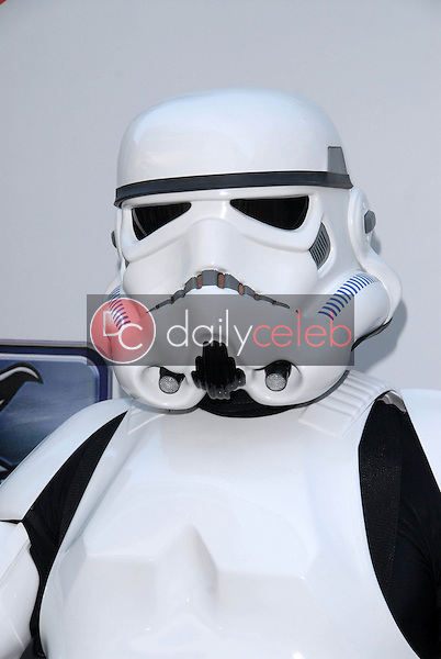 """Stormtrooper<br /> at """"The Empire Strikes Back"""" 30th Anniversary Charity Screening Benefiting St. Jude Children's Research Hospital, ArcLight Cinemas, Hollywood, CA. 05-20-10<br /> David Edwards/Dailyceleb.com 818-249-4998"""