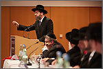 10.11.2013, Berlin. Hotel Holiday Inn West. Eröffnung der Conference of European Rabbis (CER). Rabbiner David Lau, Israels ashkenaischer Oberrabbiner