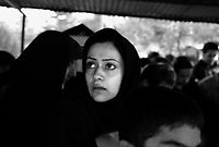 Teheran, Iran, October 3, 2007.'Behesht Zahra' (Zarha's Paradise), 15km south of the city, it is the largest cemetery in Teheran. More than 200 000 victims of the Iran-Iraq war are buried there, as well as heroes of the 1979 Revolution and ordinary people.