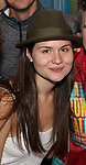 Phillipa Soo during the Actors' Equity Broadway Opening Night Gypsy Robe Ceremony honoring Manoel Felciano for 'Amelie' at the Walter Kerr Theatre on April 3, 2017 in New York City