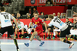 13.01.2018., Croatia, Arena Zagreb, Zagreb - European Handball Championship, Group C, Round 1, Germany - Montenegro. ANDJELIC Bozo <br /> <br /> Foto &copy; nordphoto / Dalibor Urukalovic/PIXSELL