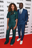 "Emilia and Oswald Boateng<br /> arriving for the ""Widows"" special screening in association with Vogue at the Tate Modern, London<br /> <br /> ©Ash Knotek  D3457  31/10/2018"