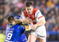 Picture by Allan McKenzie/SWpix.com - 09/03/2018 - Rugby League - Betfred Super League - Warrington Wolves v St Helens - Halliwell Jones Stadium, Warrington, England - Louie McCarthy-Scarsbrook.