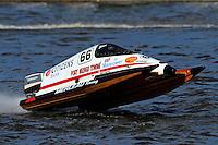 Steve Merleau (#66) SST-45 class.Bay City River Roar, Bay City,Michigan USA.26-2821 June, 2009..©F. Peirce Williams 2009 USA.F.Peirce Williams.photography.ref: RAW (.NEF) File Available