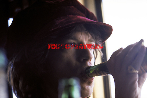 ROLLING STONES early 70's Mick Jagger  in Holland