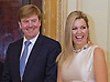 "CROWN PRINCESS MAXIMA AND CROWN PRINCE WILLEM-ALEXANDER.on their visit to Rio de Janerio as part of the Dutch trade trip to Brazil..They were honoured by Rio de Janeiro governor, Sergio Cabral with a lunch at his official residence where they presented the new Tulpi Park-Chairs designed by Marco Manders_22/11/2012.Mandatory Credit Photo: ©NEWSPIX INTERNATIONAL..**ALL FEES PAYABLE TO: ""NEWSPIX INTERNATIONAL""**..IMMEDIATE CONFIRMATION OF USAGE REQUIRED:.Newspix International, 31 Chinnery Hill, Bishop's Stortford, ENGLAND CM23 3PS.Tel:+441279 324672  ; Fax: +441279656877.Mobile:  07775681153.e-mail: info@newspixinternational.co.uk"