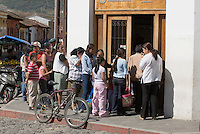 Guatemala, Bank  in Antigua