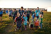 Ossian och andra barn. Photo: Magnus Fröderberg/Scouterna