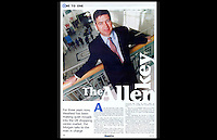 Shopping Centre: Magazine, June 2001, Page 14 - Peter Allan - Westfield Royal Victoria Place Shopping Centre - Tumbridge Wells, England TN1 - June 2001